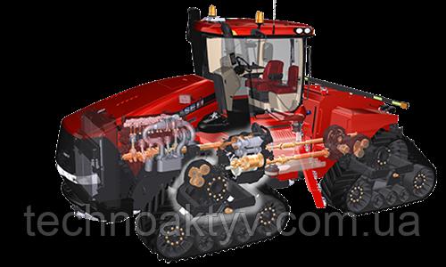 Все преимущества привода с двумя ведущими осями  При разработке тракторов Steiger® следующего поколения инженеры Case IH учли пожелания заказчиков.  Универсальные модели колесных тракторов и тракторов с конфигурацией QUADTRAC® с двигателями мощностью от 335 до 535 л.с. обеспечивают повышенную производительность, рентабельность, повышенный комфорт и удобство эксплуатации, долговечность, исключительную надежность, простоту эксплуатации и технического обслуживания.