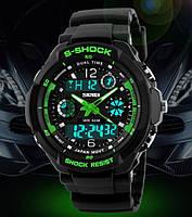 Мужские спортивные водостойкие часы S-SHOCK