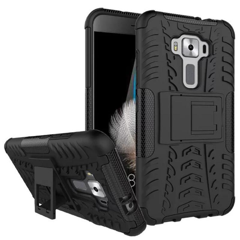 Чехол Asus Zenfone 3 / ZE520KL противоударный бампер черный