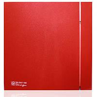 Вентилятор SILENT-100 CZ RED DESIGN -4C бесшумный