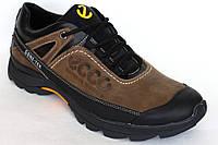 Демисезонные кроссовки из кожи Res-Ecco