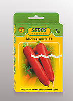 Морковь Анета F1 (на 5м водорасторимой ленте) - SEDOS