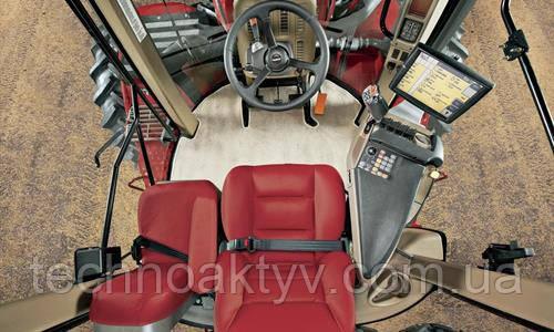 Конфигурация кабины Улучшенный обзор. Повышенный комфорт  Самая большая в классе кабина значительно повышает производительность оператора.