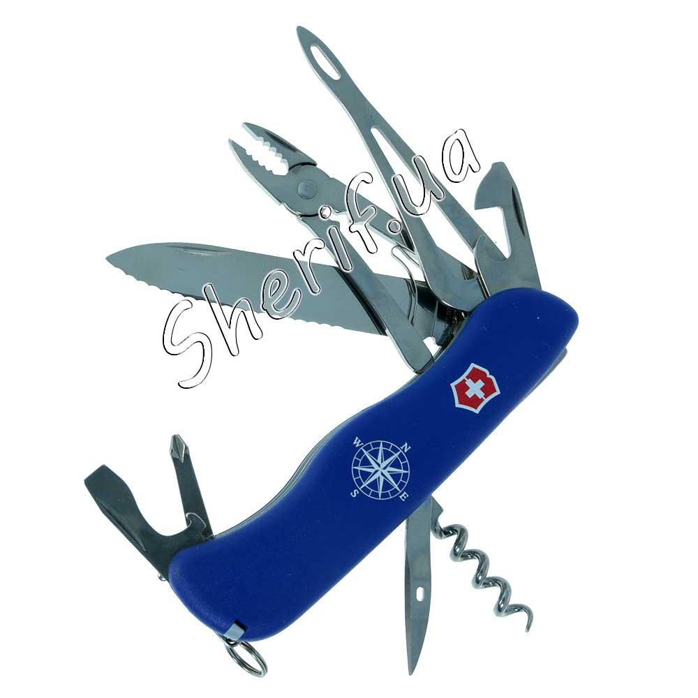 Нож Victorinox Skipper 0.9093.2W Blue