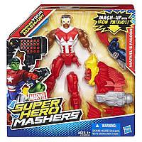 Разборная фигурка супергероя Сокол - Marvel's Falcon, Mashers, Marvel, Hasbro