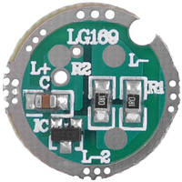 Регулируемый драйвер для светодиодов: 16 мм, 3 режима, потребление 0,7А, питание 3,7В