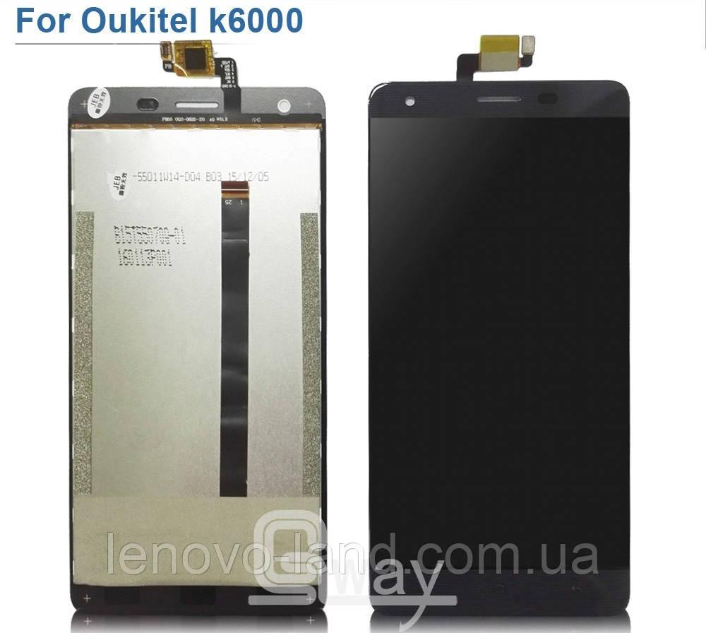 LCD экран для Oukitel K6000 модуль, дисплей