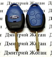 Корпус авто ключа для FORD Connect, Transit (Форд Коннект, Транзит) 3 - кнопки, лезвие FO21