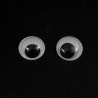 Фур-ра д/игрушек-глаз-бусинка,12 мм