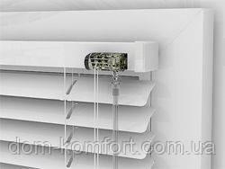 Алюминиевые горизонтальные жалюзи - Белые жалюзи 25мм