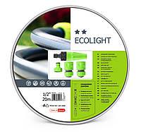 """Поливочный набор ECOLIGHT шланг + комплект соединителей Cellfast  Поливочный набор ECOLIGHT шланг 3/4"""" 20 м"""