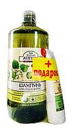 Шампунь Зеленая Аптека Липовый цвет и облепиховое масло - 1 л. + Подарок