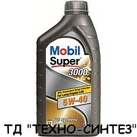 Моторное масло MOBIL SUPER 3000 Х1 5W-40 (1л)
