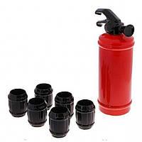 Коньячный набор Огнетушитель, 7 предметов, фото 1