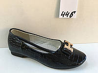 Туфли детские для девочек в размерах 25-30