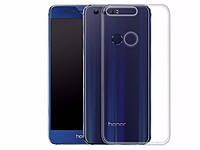 Ультратонкий 0,3 мм чехол для Huawei Honor 8 прозрачный