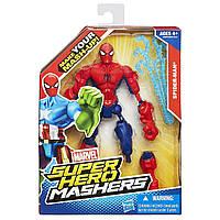 Разборная фигурка Человек Паук - Spider Man, Super Hero Mashers, Marvel, Hasbro