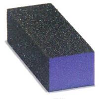 Бафик 3-х сторонний для снятия гель-лака (грубый) Master Professional фиолетовый 100 грит