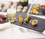 Блюдо квадратное Revol черное серия Basalt (20х20х0,7 см), фото 2