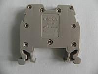 Клемма ОНКА на Дин-рейку 2,5 мм2 750В, 24А