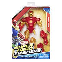 Разборная фигурка Железный Человек в золотой броне - Iron Man Gold Armor, Marvel, Mashers, Hasbro