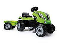 Трактор детский с педалями Лайм Smoby , фото 1