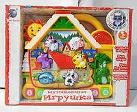 Обучающая  игрушка теремок