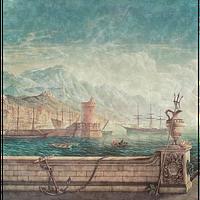 Фреска Ampir Decor арт.AM 111 Porto Sant Angelo (4 х 2.8м/4 panels)