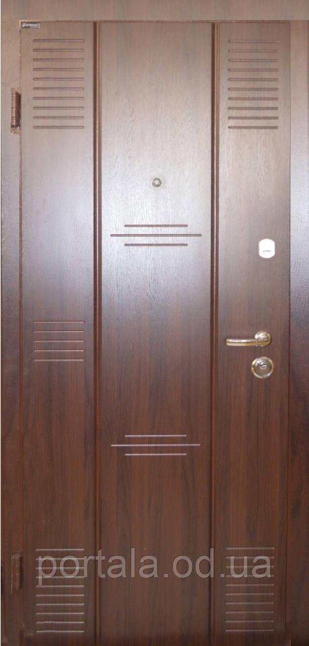 """Вхідні сталеві двері """"Портала"""" (серія Стандарт) ― модель Брайтон"""