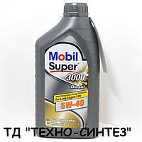 Моторное масло MOBIL SUPER 3000 Diesel 5W-40 (1л)
