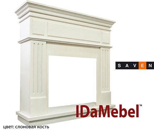 Камин портал для электрокамина DIMPLEX IDaMebel New York (портал без очага под электрокамины), фото 2