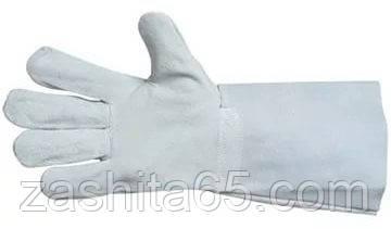 Перчатки сварщика с крагами  спилк Украина