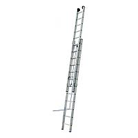Лестница 2-х секционная Elkop VHR L 2х16 на канатной тяге (7,34 м, 150 кг)