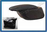 Подлокотник Chevrolet Aveo 2006-2013 сдвижной , черный