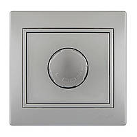 Диммер 1000 Вт Lezard Mira 701-1010-157 серый металлик
