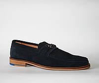 Мужские туфли лоферы GOLD Португалия оригинал натуральная замша 39
