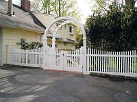 Ворота пластиковые