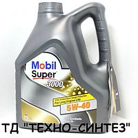 Моторное масло MOBIL SUPER 3000 Х1 5W-40 (4л)