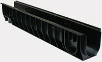 Лоток водосточный пластиковый DN100 H155*1000*160 мм