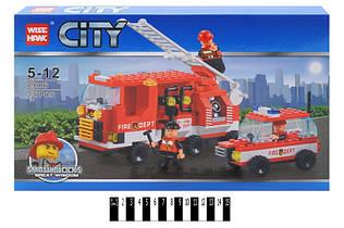 """Конструктор CITY """"Пожарная техника"""", 227 дет. 89006"""