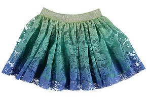 Юбка для девочки LC Waikiki сине-голубого цвета