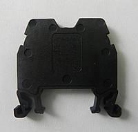 Клемма ОНКА на Дин-рейку 2,5 мм2 750В, 24А, цвет черный.