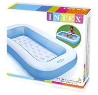 Intex 57403 Надувной детский бассейн  166х100х28 см