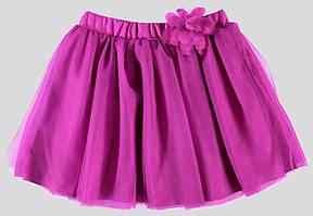 Юбка для девочки LC Waikiki фиолетового цвета