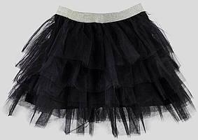 Юбка для девочки LC Waikiki черного цвета