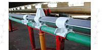 Разъем пластиковый для стальной трубы 32 мм