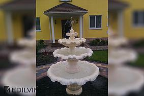 Установка декоративного фонтана (Харьковская обл. с Тишки)