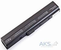 Аккумулятор для ноутбука Asus A40 A42 A52 A62 B53 F85 K42 K52 K62 A32-N82 A42-K52 10.8V 4400mAh Black