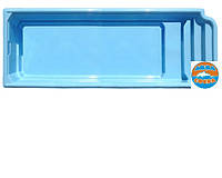 АКЦИЯ Бассейн Атлантида 8 (белый цвет) + оборудования и монтаж БЕСПЛАТНО