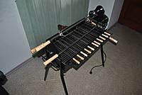 Мангал с автоматическим приводом шампуров Spit roast HW-2256B